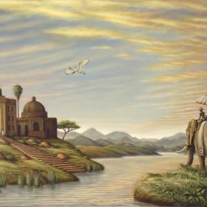 Maharaja's Garden art print
