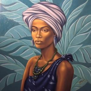 Fulani Girl 2 art print