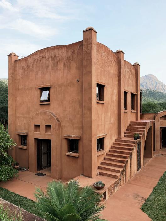 Boondocks exterior house design