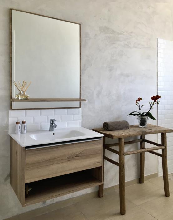 Penthouse bathroom basin