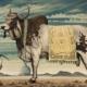 Sacred Bull & Ibis art print